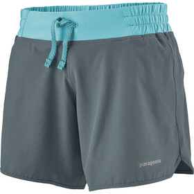 "Patagonia Nine Trails Shorts 6"" Women, plume grey"